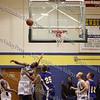 Newburgh Free Academy Boys Varsity Basketball team took on Washingtonville on Tuesday, December 9, 2008 at NFA. #22 Patrick Johnson, #25 Danny Sternkopf