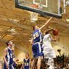 Newburgh Free Academy Boys Varsity Basketball team took on Washingtonville on Tuesday, December 9, 2008 at NFA. #5 Damon Cousar, #25 Danny Sterkkopf