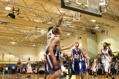 Newburgh Free Academy Boys Varsity Basketball team took on Washingtonville on Tuesday, December 9, 2008 at NFA. #12 Josh Bolden