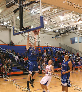 The SUNY New Paltz men's basketball team hosted Fredonia State Friday, December 5, 2008, and fell to the Blue Devils, 68-63.