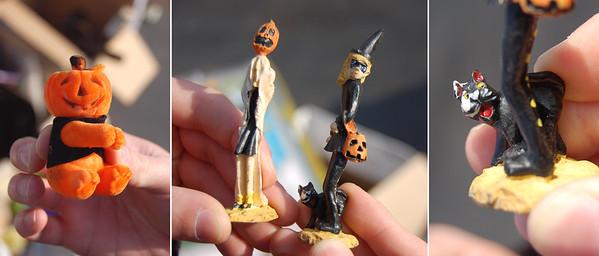 Weird Halloween Figures