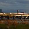 Newburyport bound train 2169 crosses the Mystic River on Draw 7.