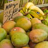 Mangos at Haymarket in Boston.