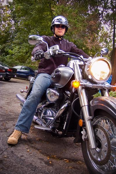 Ken & His New Ride