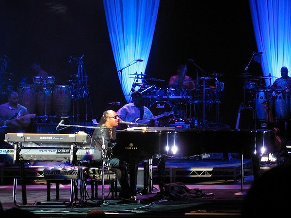 Stevie Wonder concert