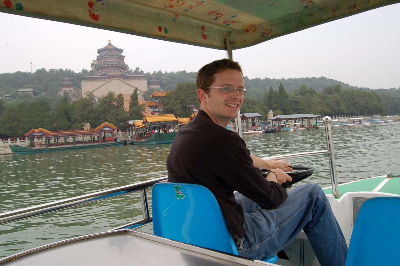 Boating at the Summer Palace