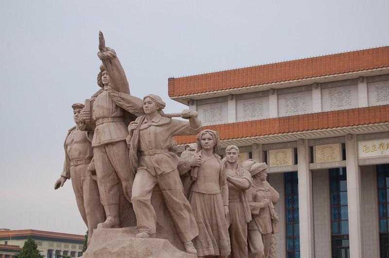 Tiananmen Square statues