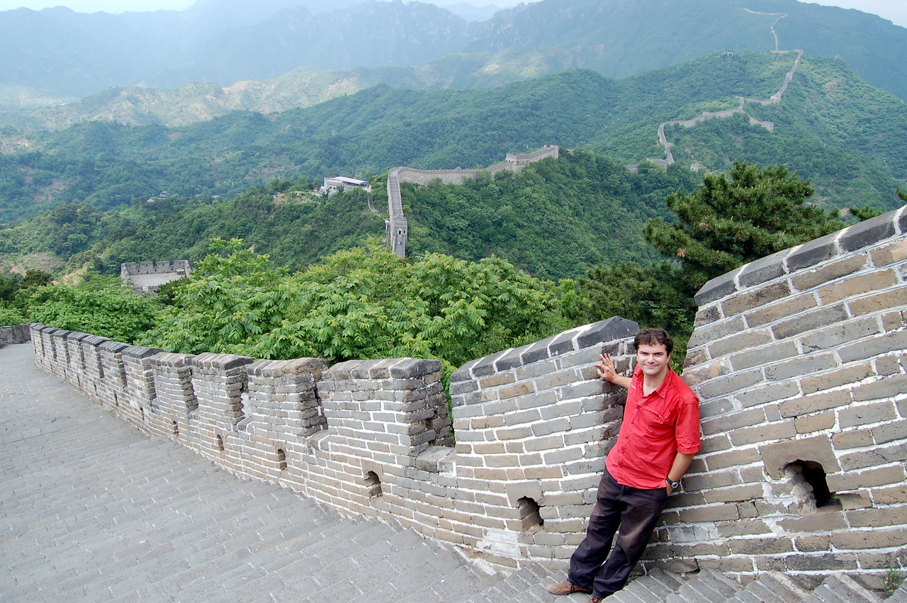 Matt at the Great Wall