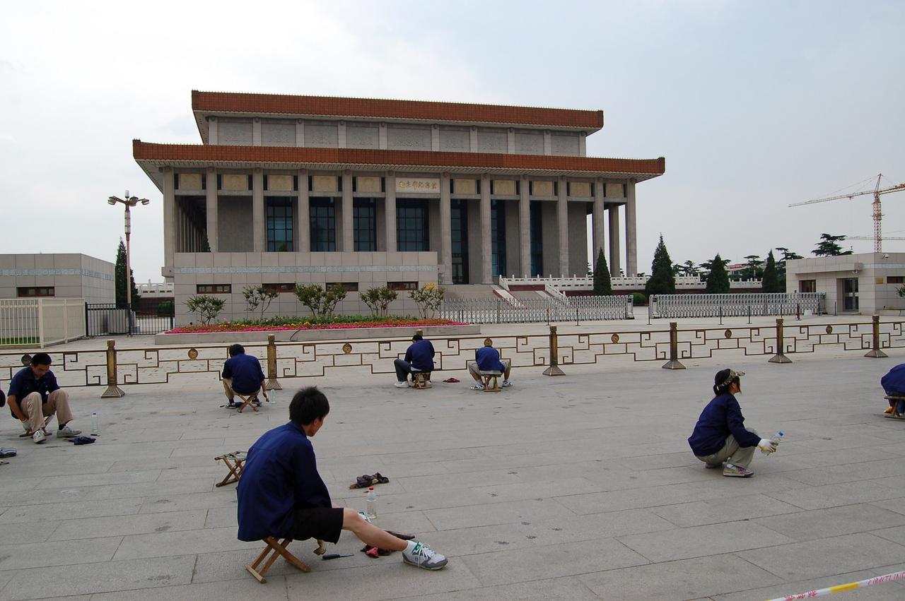 Tiananmen Square painters