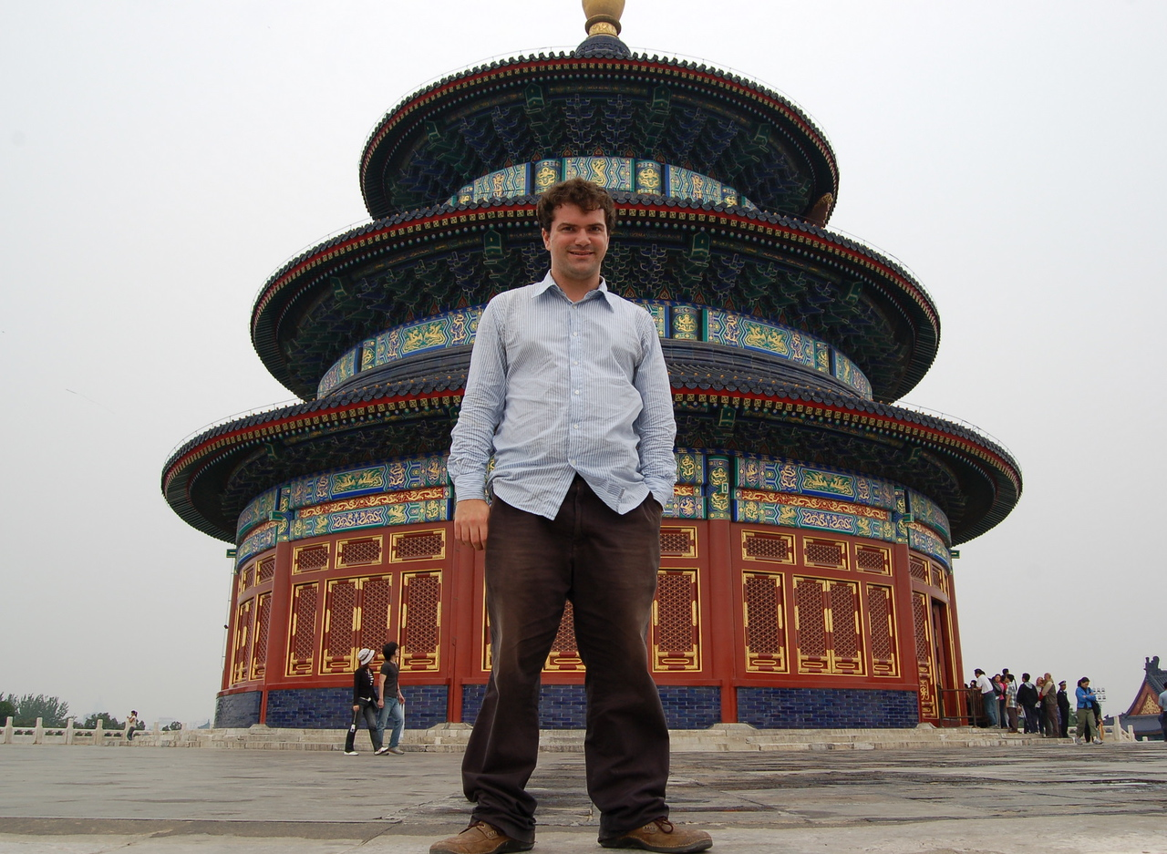 Matt at the Temple of Heaven