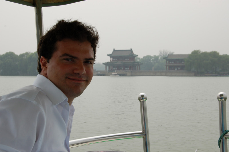 Matt at the Summer Palace