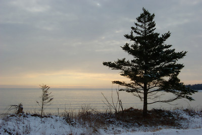 Sunrise - Fisherman's Cove.  Feb. 2008