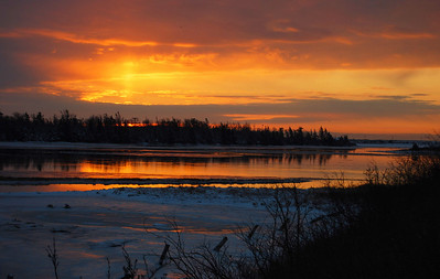Sunrise -  Lawrencetown - Feb. 09, 2008.