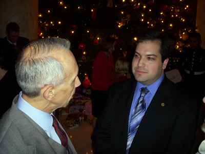 Craig chats with Associate Justice David Souter