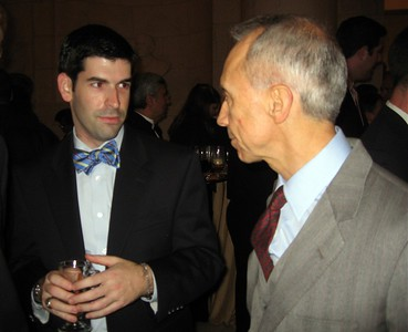 David chats with Associate Justice David Souter