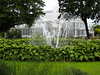 Fountain and glasshouse in the Trädgårdföreningen park