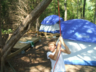 2008 Swimming and Fishing Campout