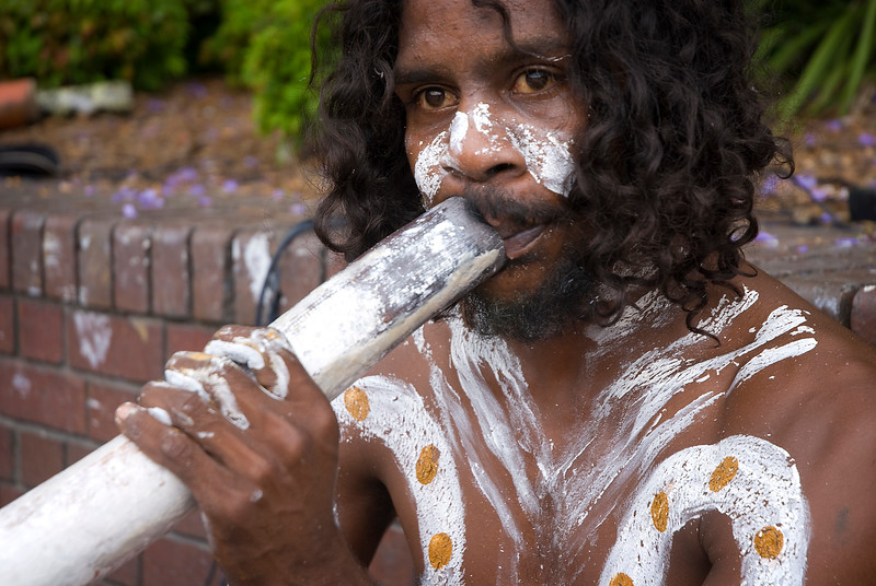 Aboriginal and digeridoo