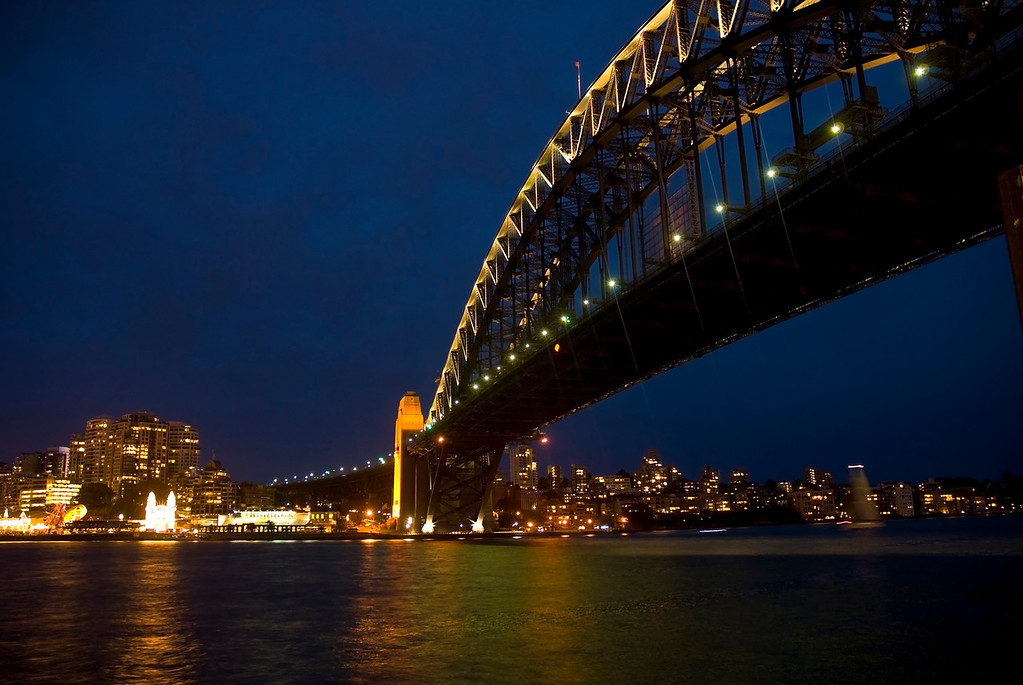 Sydney by night