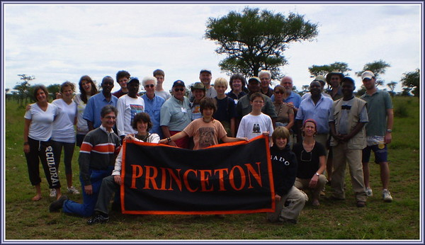 Princeton group preparing to leave the Serengeti - Will Howarth