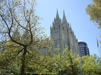 Temple Square, May 2008