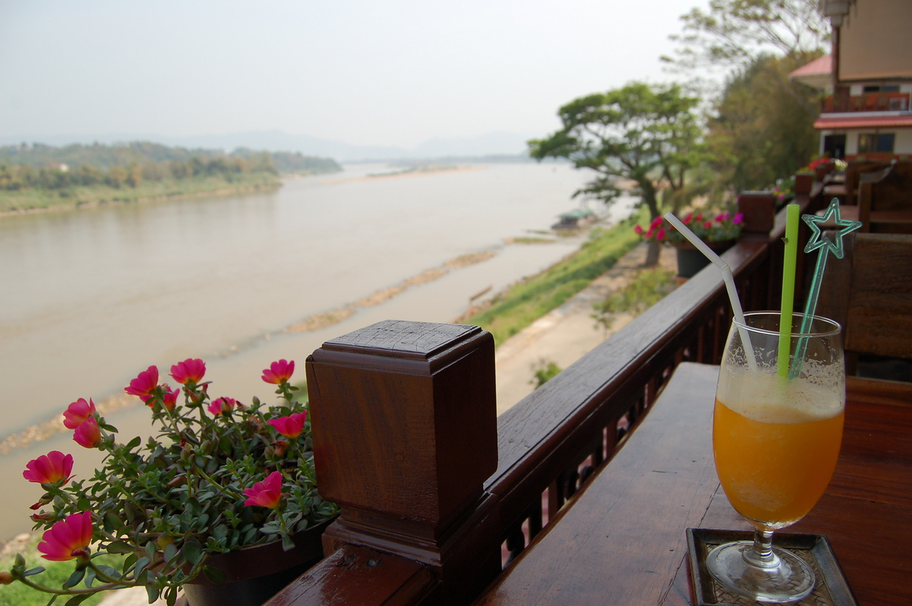 First sight of the Mekong