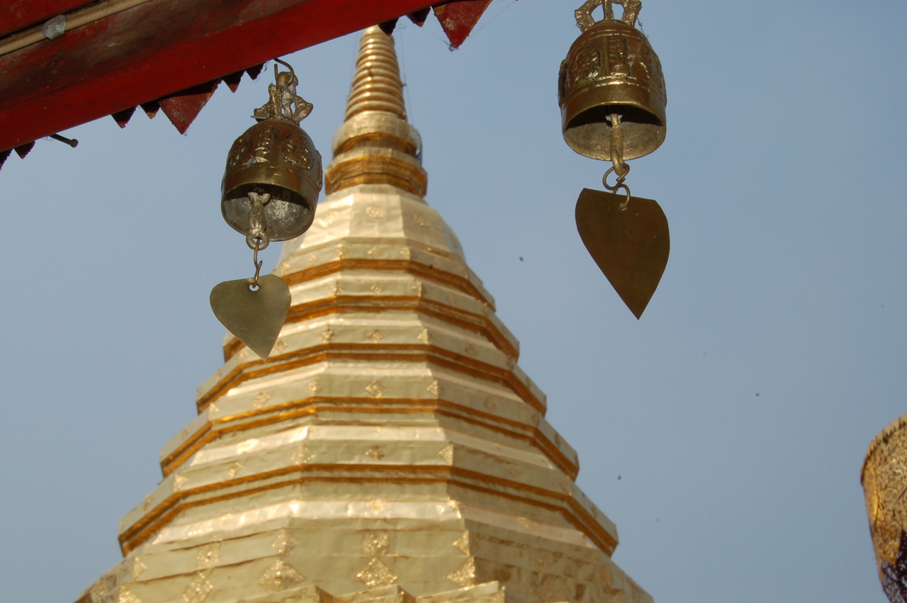 Stupa at Wat Phra That Doi Suthep