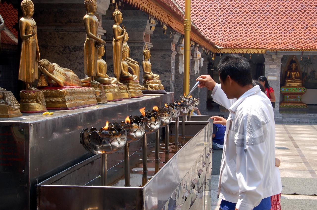 Lighting incense