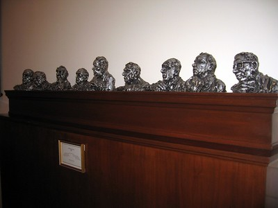 Sculptures of the Warren Court