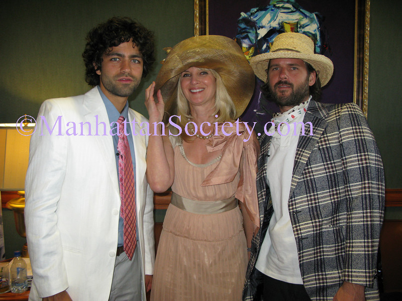 Adrien Grenier, Sara Herbert-Galloway, Clark Stiles (The Good Listeners)