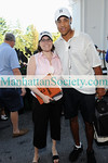 Jennifer Alpert, John Starks                                  The 13th Annual John Starks Celebrity Classic Monday, September 8, 2008, Old Oaks Country Club, 3100 Purchase Street, Purchase, New York