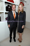 NEW YORK-OCTOBER 23: Elisabeth Saint-Amand & guest attend The Associates Committee of Fountain House Fall Fete at Valentino Boutique, 747 Madison Avenue at 65th Street, New York City on Thursday, October 23, 2008 (Photo Credit: Christopher London/ManhattanSociety.com)