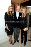 NEW YORK-OCTOBER 23: Eleanor Ylvisaker, Mark Gilbertson, Katie Zorn Hand attend The Associates Committee of Fountain House Fall Fete at Valentino Boutique, 747 Madison Avenue at 65th Street, New York City on Thursday, October 23, 2008 (Photo Credit: Christopher London/ManhattanSociety.com)