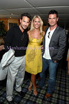 Paul Gordon, Megan Turner, Aiden Turner attend The Community Coalition 7th Annual Benefit Aboard the Forbes Highlander Yacht in New York City on Tuesday, July 8, 2008. PHOTO CREDIT: Copyright © 2008 Manhattan Society.com by Christopher London