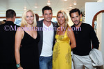 Catherine Forbes, Aiden Turner, Megan Turner, Paul Gordon attend The Community Coalition 7th Annual Benefit Aboard the Forbes Highlander Yacht in New York City on Tuesday, July 8, 2008. PHOTO CREDIT: Copyright © 2008 Manhattan Society.com by Gregory Partanio