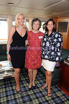 Catherine I. Forbes, Moira Forbes Mumma, Sabina Forbes II attend The Community Coalition 7th Annual Benefit Aboard the Forbes Highlander Yacht in New York City on Tuesday, July 8, 2008. PHOTO CREDIT: Copyright © 2008 Manhattan Society.com by Gregory Partanio