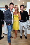 Aiden Turner, Megan Turner, Paul Gordon attend The Community Coalition 7th Annual Benefit Aboard the Forbes Highlander Yacht in New York City on Tuesday, July 8, 2008. PHOTO CREDIT: Copyright © 2008 Manhattan Society.com by Gregory Partanio