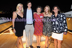 Catherine I. Forbes, Malcom Harrison Forbes, Moira Forbes Mumma, Isabel Forbes, Sabina Forbes II attend The Community Coalition 7th Annual Benefit Aboard the Forbes Highlander Yacht in New York City on Tuesday, July 8, 2008. PHOTO CREDIT: Copyright © 2008 Manhattan Society.com by Gregory Partanio