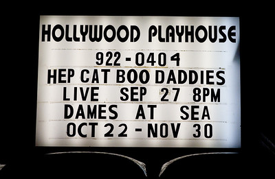 The Hep Cat Boo Daddies 10 Year Anniversary Party at the Hollywood Playhouse