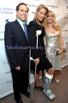 NEW YORK-OCTOBER 21: Dr. Kevin Plancher, Heidi Albertsen & Ramona Singer attend People Reaching Out's Friends Helping Friends Benefit for CreakyJoints featuring The Real Housewives of New York City at the Hudson Terrace, 621 West 46th Street, New York City on Tuesday, October 21, 2008 (Photo Credit: Christopher London/ManhattanSociety.com)