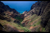Na Pali coast valley, Kauai, Hawaii
