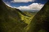 Valley near Mt Kawaikini, Kauai, Hawaii