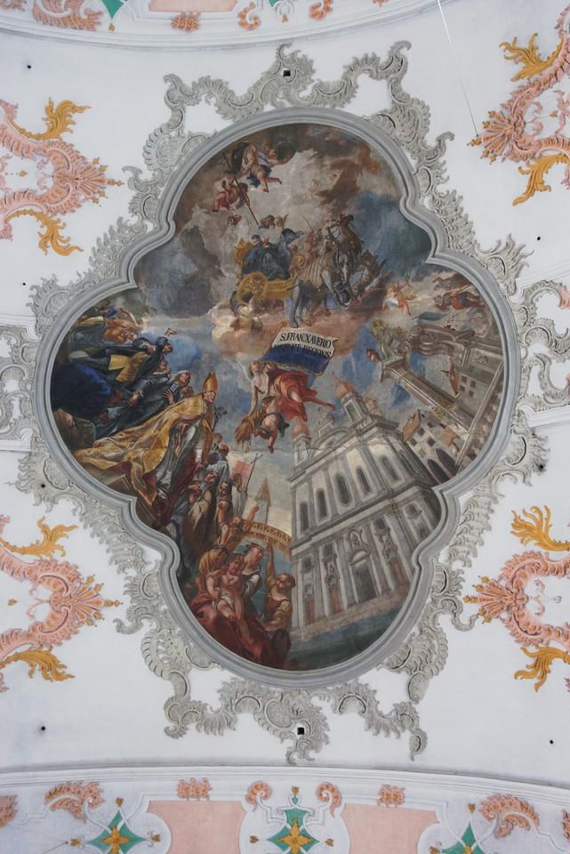 Inside the Jesuitenkirche