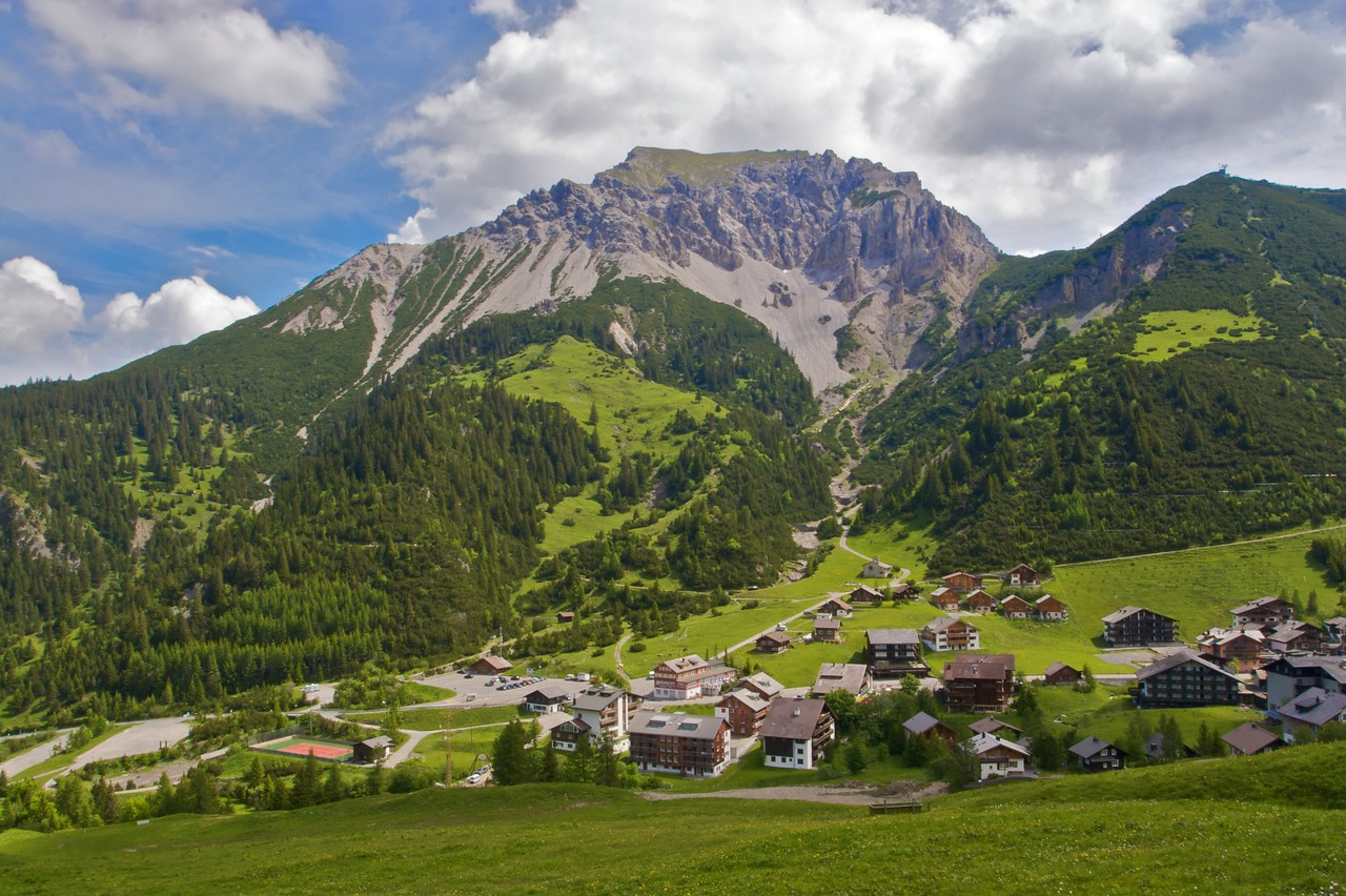 Malbun • Malbun is a small ski resort in the south-eastern part of Liechtenstein.