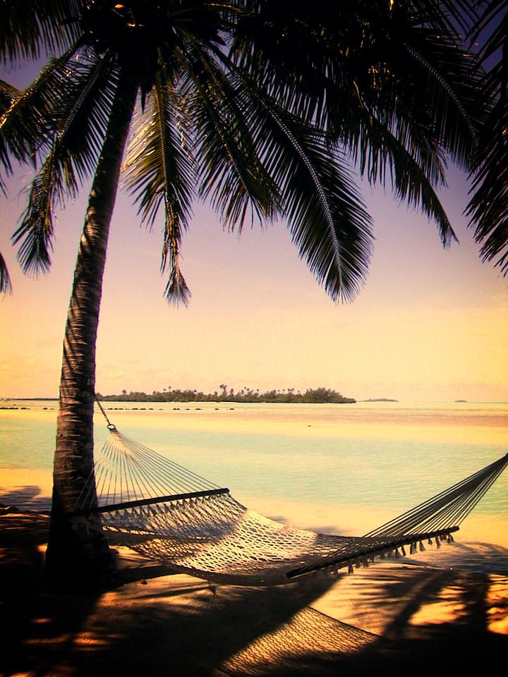 Aitutaki Lagoon Resort, Cook Islands.