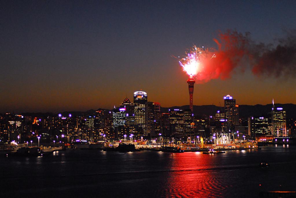 Fireworks, Auckland