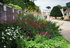 Flowerbeds at Hampton Court