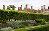 Gardens and chimneys, Hampton Court
