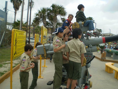 2008 USS Lexington Sleepover