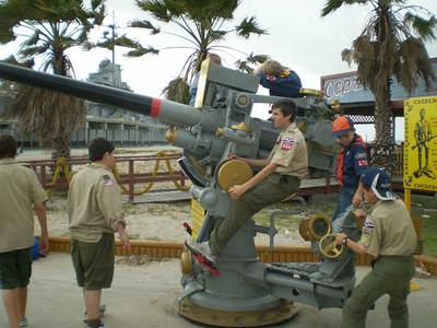 2008 USS Lexington Sleepover
